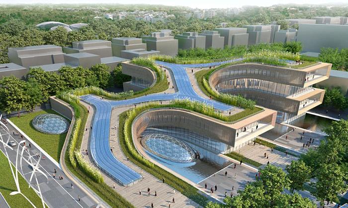 Vincent Callebaut navrhl pro Řím ekologickou čtvrť