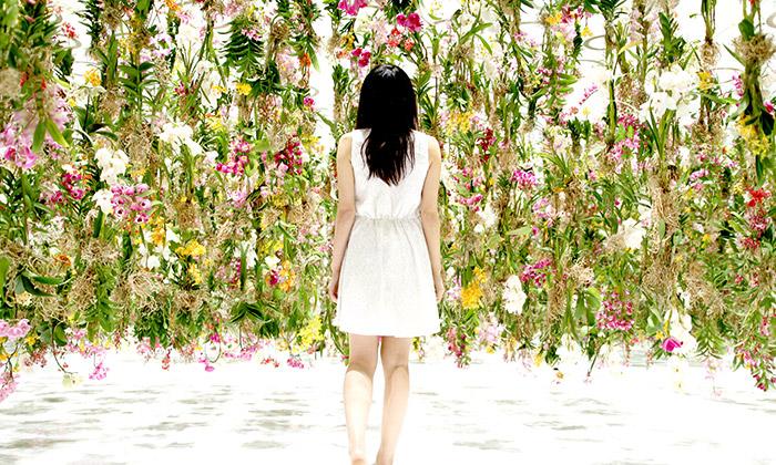 Tokijské muzeum má výstavu z2300 živých květin