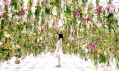 Instalace Floating Flower Garden od studia TeamLab