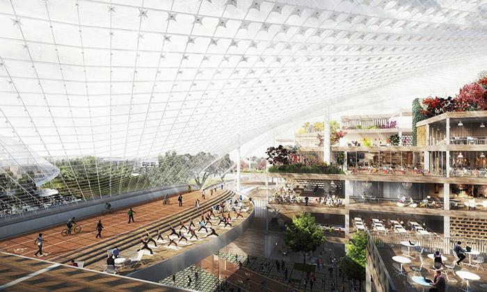 BIG aHeatherwick navrhli Googlu nové kanceláře