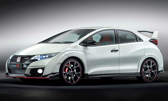 Honda Civic Type R má zuřivě sportovní design