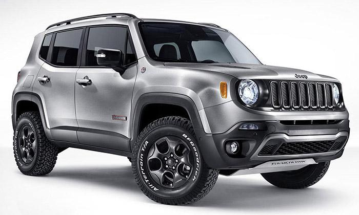 Jeep Renegade Hard Steel jezkartáčované oceli
