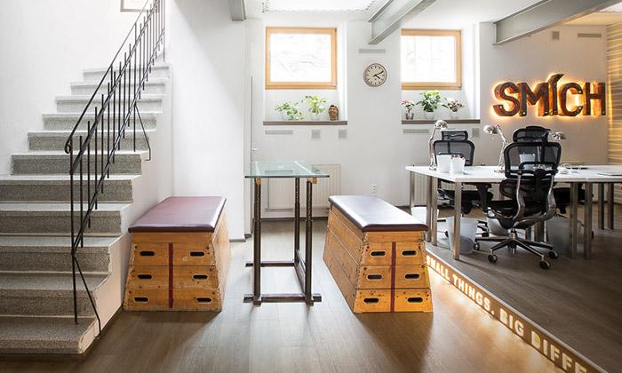 Loosers mají nové kanceláře skreativním duchem