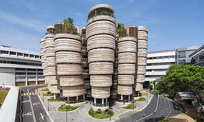 Heatherwick postavil vSingapuru studijní centrum