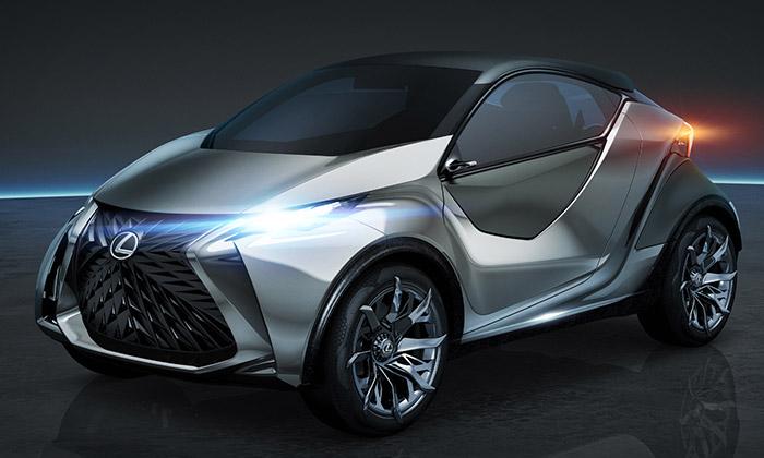 Lexus LF-SA jevize městského vozu budoucnosti