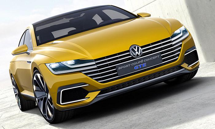Volkswagen představil Sport Coupé Concept GTE