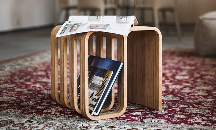 Woodieful Chair jemultifunkční stolička ze dřeva
