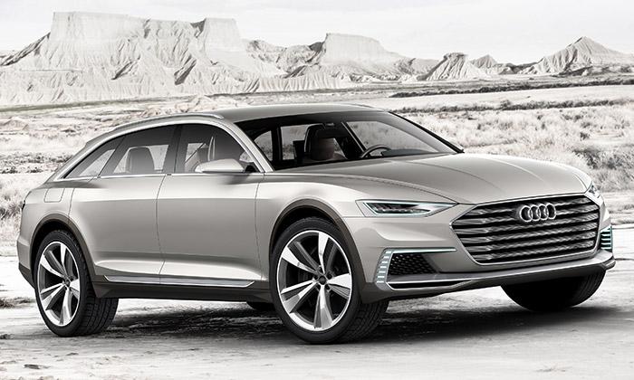 Audi Prologue Allroad ukazuje změny designu Audi