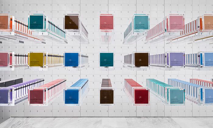 Nendo navrhli futuristický obchod sčokoládou BbyB