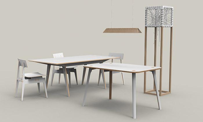 Designed & Crafted navrhli první kolekci nábytku