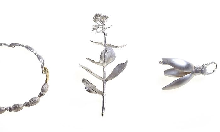 Hanuš Lamr navrhl kolekci šperků podle skalniček