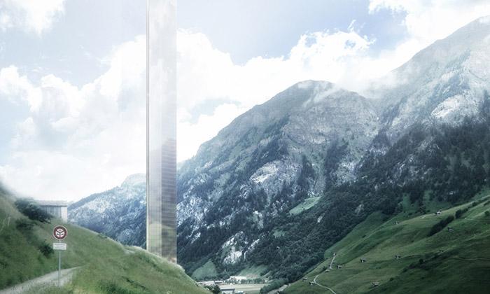 Morphosis navrhli vhorském Vals mrakodrap ze skla
