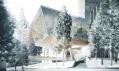 Návrh výškové budovy od Morphosis pro švýcarské Vals