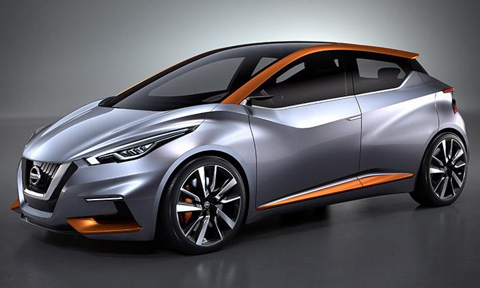Nissan Sway jeměstský vůz senergickým designem
