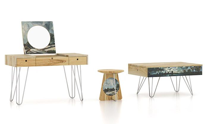 Kolekce nábytku NARKI spojuje design smalbou