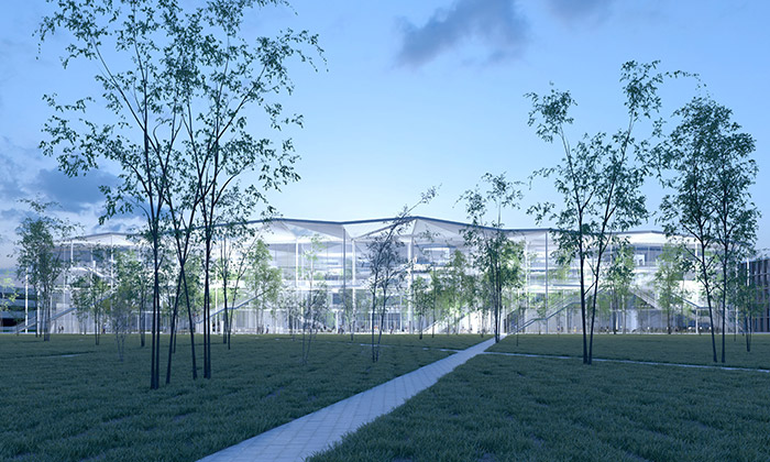 Sou Fujimoto postaví vPaříži průhlednou školu