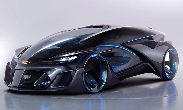 Chevrolet představil futuristický samořídící vůz FNR