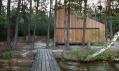 Chata u jezera od FAM Architekti