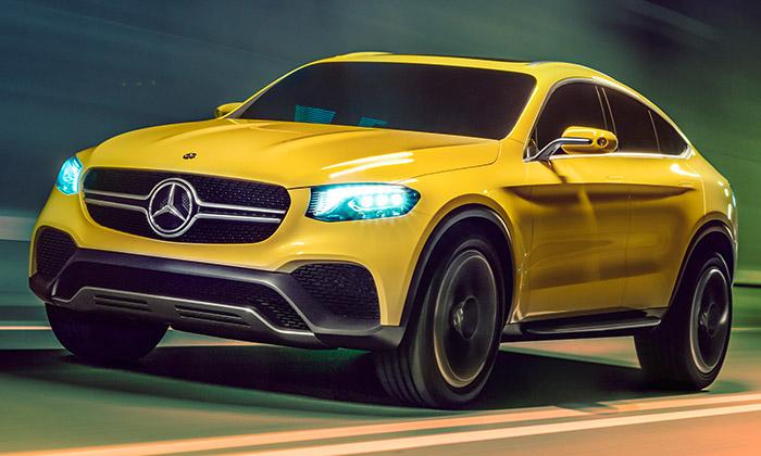 Mercedes-Benz GLC Coupé jevize budoucího SUV