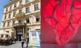 Pohled do expozic designérské přehlídky Prague Design Week 2015