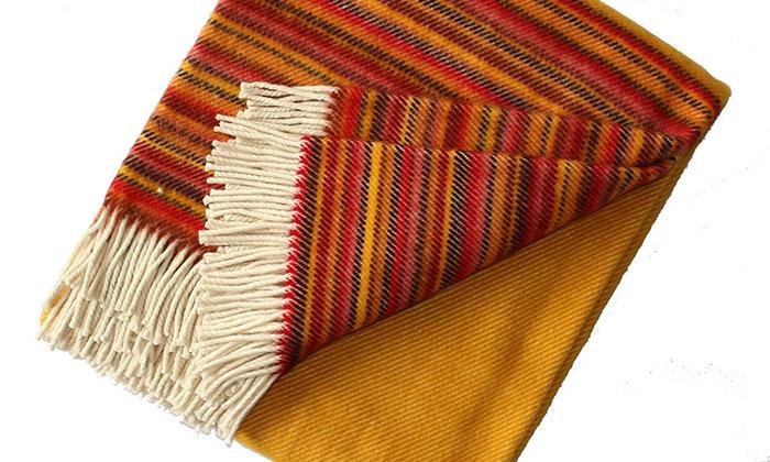 Tkalcovna vyrábí bytový textil zpřírodních materiálů