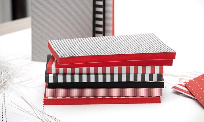 Voala vytváří sláskou kpapíru nejen zápisníky