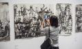 Ukázka z výstavy Art from the Heart v Šanghaji