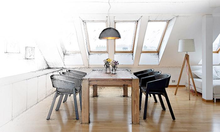 VZ Architekti ukazují jak senavrhuje dům iinteriér