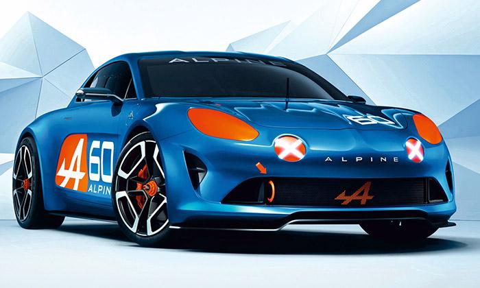 Alpine Celebration jekoncepční model k60.výročí