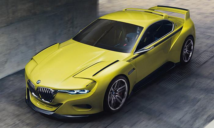 BMW 3.0 CSL Hommage odkazuje navůz ze 70.let