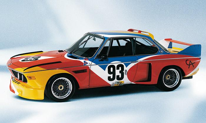 BMW Art Car slaví 40 let odztvárnění prvního vozu