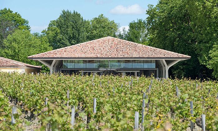 Foster postavil moderní vinařství Château Margaux