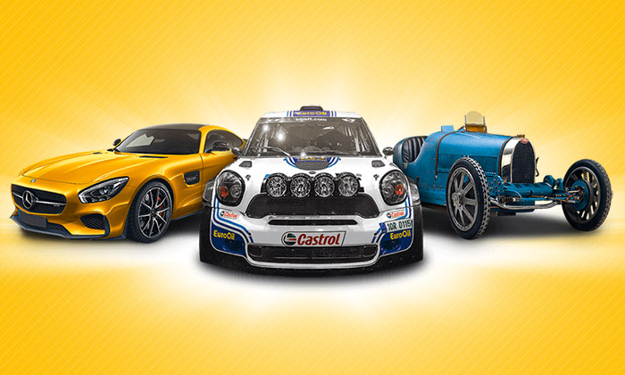 Motoristická slavnost Legendy 2015 ukáže 750 vozů