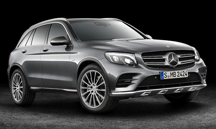 Mercedes-Benz GLC jezaoblené středně velké SUV
