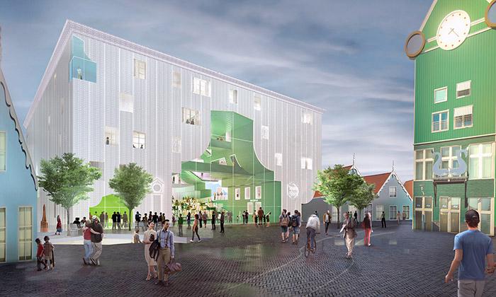 Zaanstad postaví nové kulturní centrum odMVRDV
