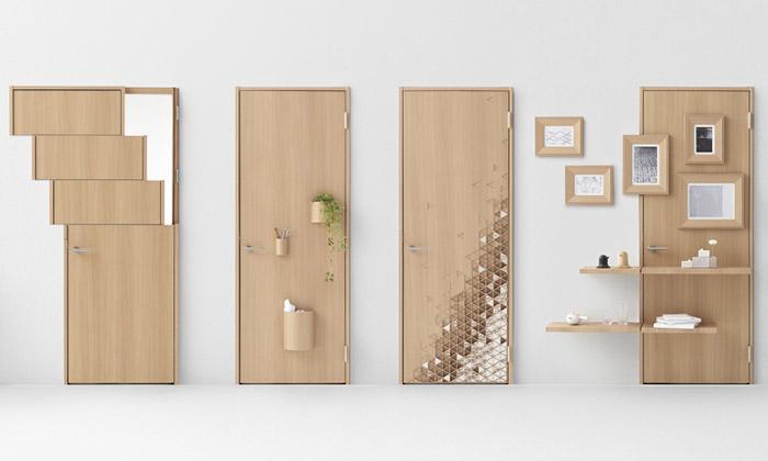 Nendo navrhli sedm inovativních dveří dointeriéru