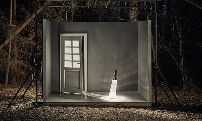 Preciosa fotila svítidla Solitaires Collection vpřírodě