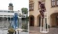 Ukázka vybraných exponátů z festivalu Sculpture Line