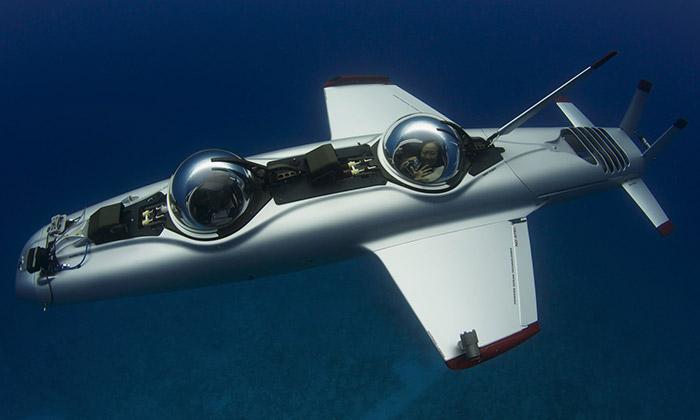 Super Falcon Mark II jeosobní ponorka pro dva