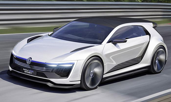 Volkswagen představil futuristický Golf GTE Sport