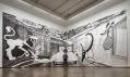 Ukázka z výstavy Drawing Now: 2015 ve vídeňské galerii Albertina