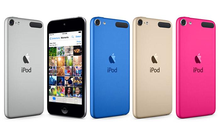 Apple představil nový hudební přehrávač iPod touch