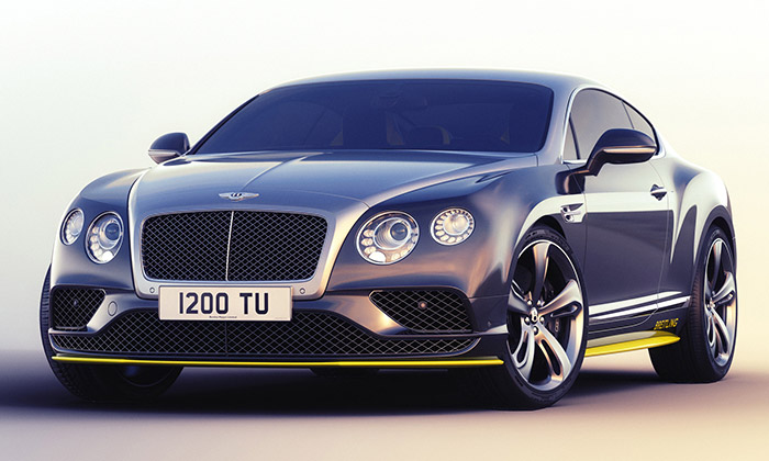 Bentley vyrobí sedm Continental GT Speeds Breitling