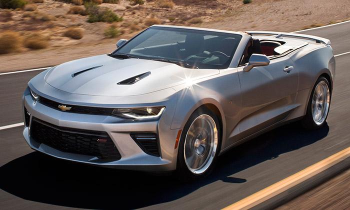 Chevrolet Camaro přichází vletní verzi Convertible