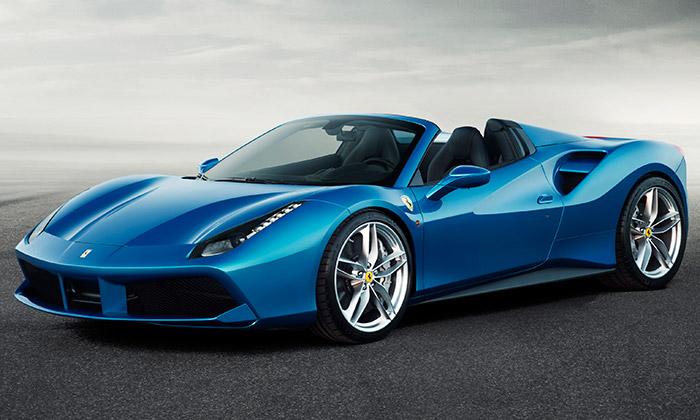 Ferrari uvádí 488 Spider spevnou skládací střechou