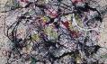 Ukázka zvýstavy Jackson Pollock: Blind Spots