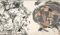 Ukázka z výstavy Jackson Pollock: Blind Spots