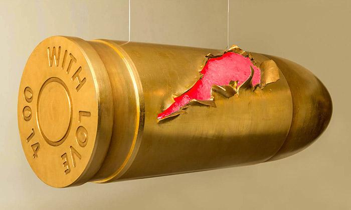 Ondřej Oliva vystavuje vOstravě anorganické sochy
