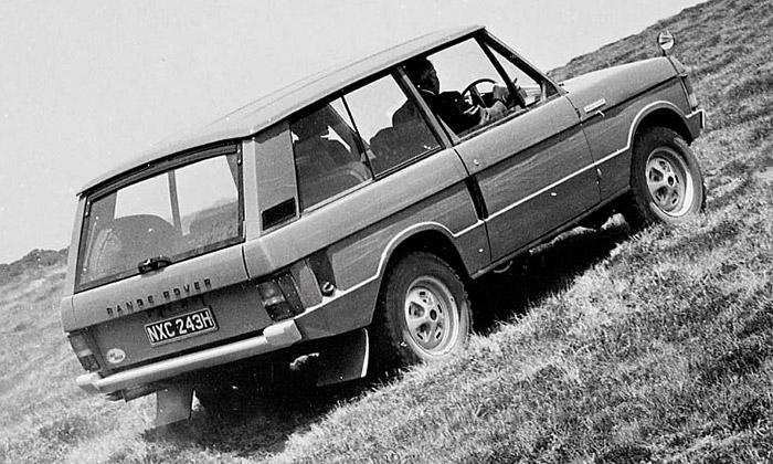 Průkopnický terénní vůz Range Rover slaví 45 let