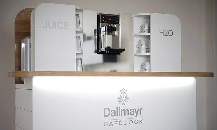 Roman Kvita navrhl mini mobilní kavárnu CaféDock